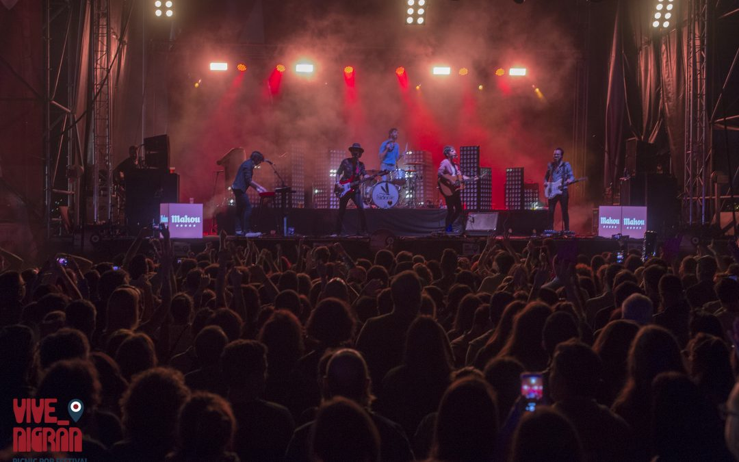 Aproximadamente 5.000 personas pasaron por Vive Nigrán los pasados 21 y 22 de julio durante la celebración de este «Picnic Pop Festival»